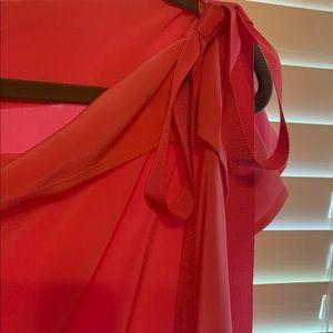 ANTONIO MELANI Tops - Pink Antonio Melani Silk Top Size Medium